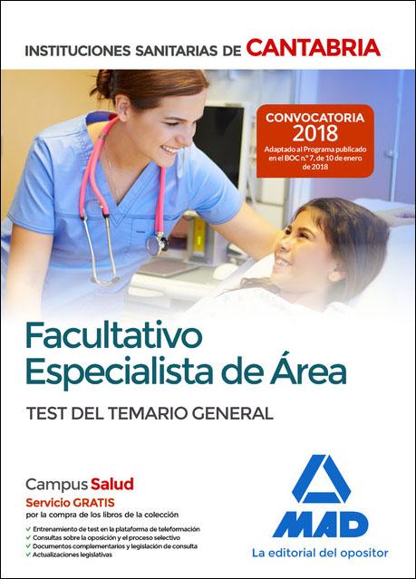 FACULTATIVO ESPECIALISTA DE AREA DE LAS INSTITUCIONES SANITARIAS DE ...