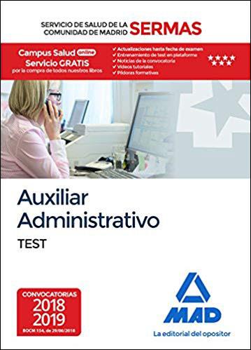 Auxiliar Administrativo Del Servicio De Salud De La